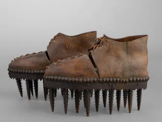 С такой обувью и в грязь не страшно