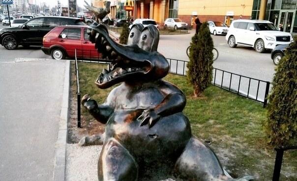 Скульптуры великих