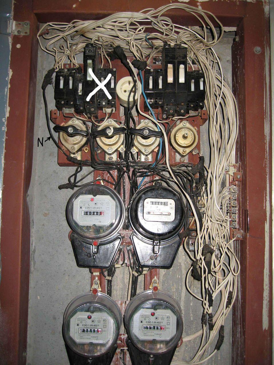 Что в голове у электрика