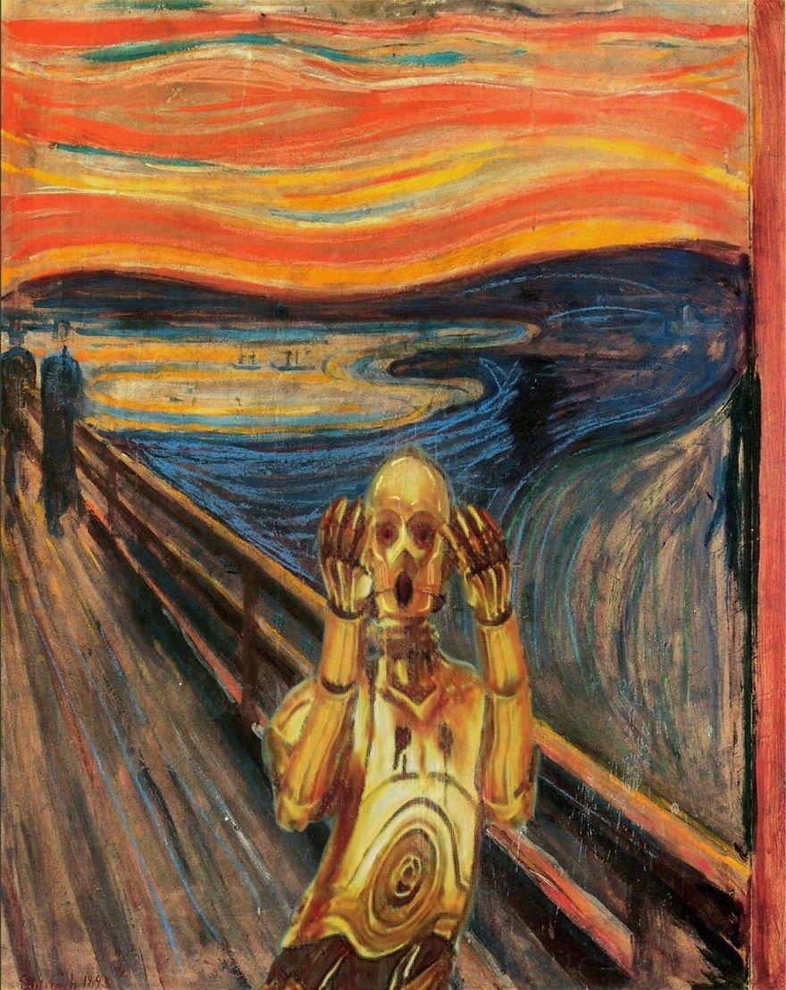 Фотошоп на известных картинах