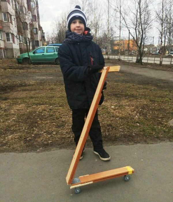 Детство ребёнка, который родился и вырос в России