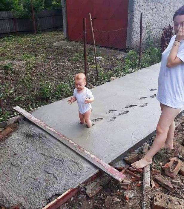Быть родителем иногда опасно