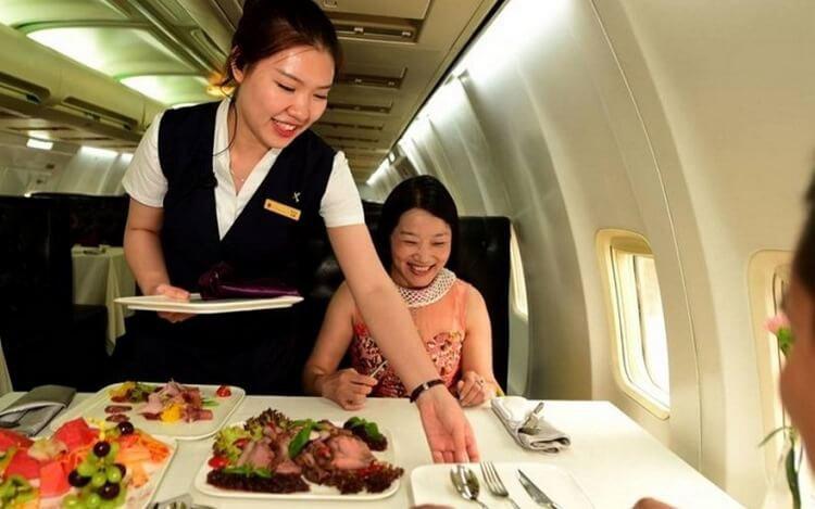 Китаец эксклюзивный ресторан из самолета (фото)