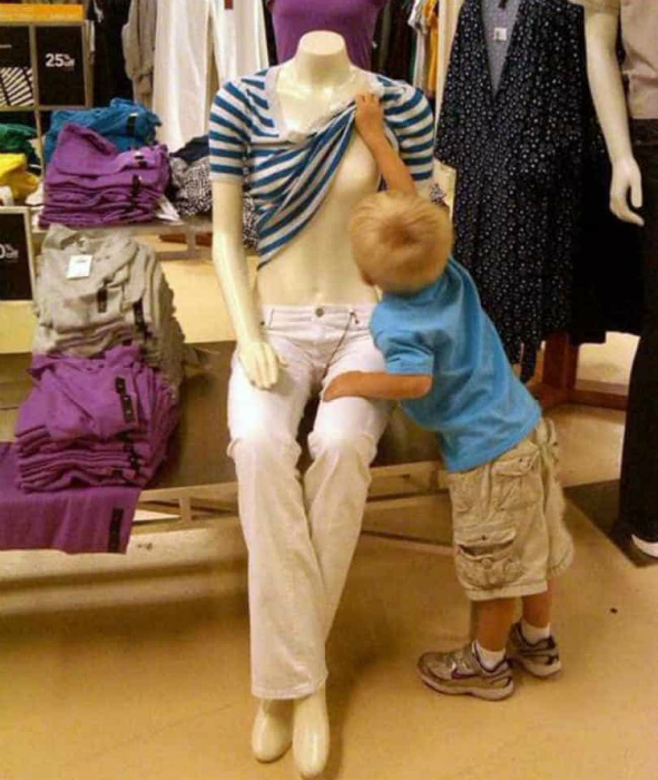 Ребёнок в магазине — бомба замедленного действия