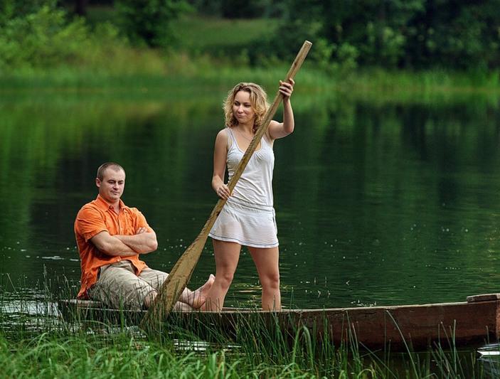 На рыбалку с Сашкой