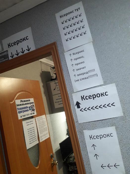 Уморительная подборка объявлений, которые вы можете увидеть в офисе