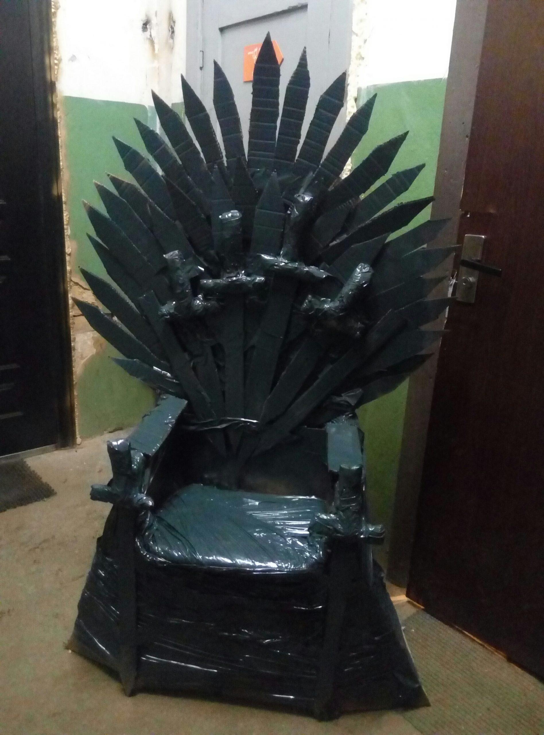 Настоящий трон для короля