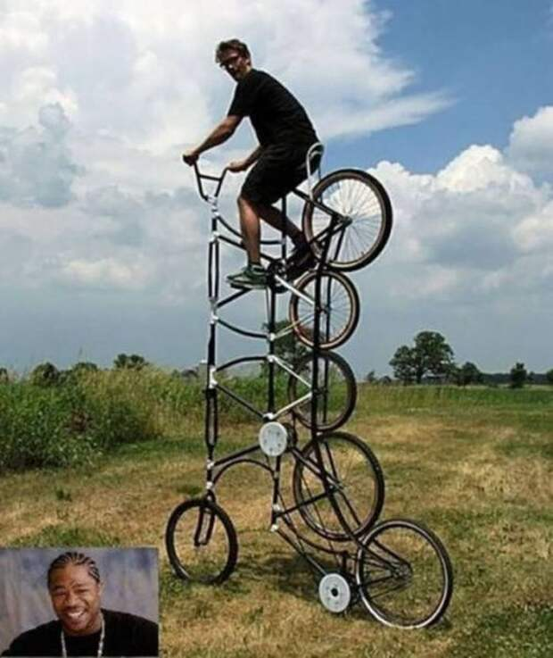 Фото подборка необычных и забавных велосипедов
