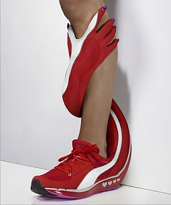 Фото подборка самых странных кроссовок