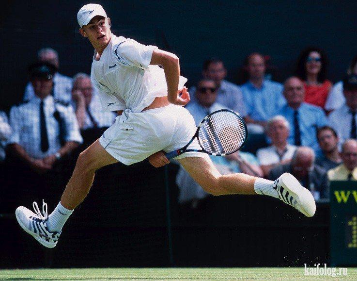 Подборка фото приколов про теннис