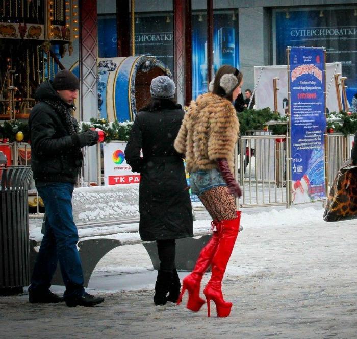 Фото подборка самых экстраординарных зимних образов