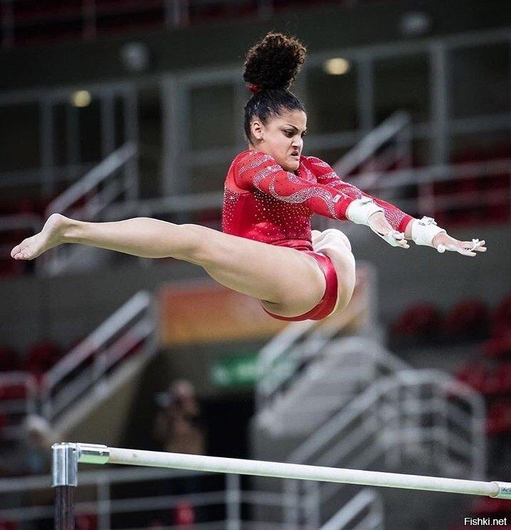 Когда гимнастика не только красиво, но и смешно