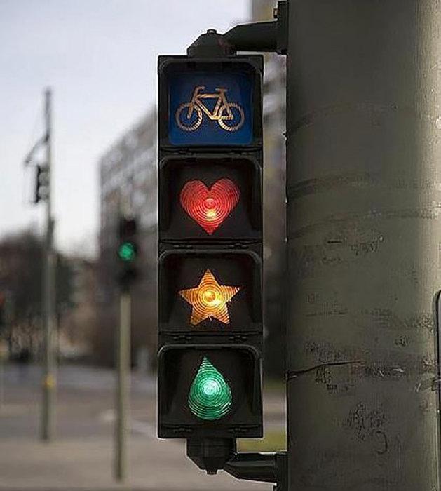 Самые креативны и забавные светофоры