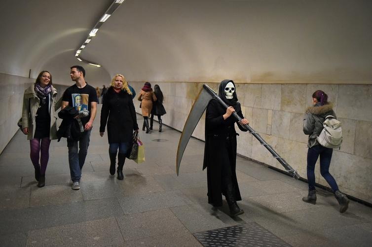 Чудные пассажиры метро