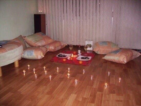 Первая ночь в своей квартире