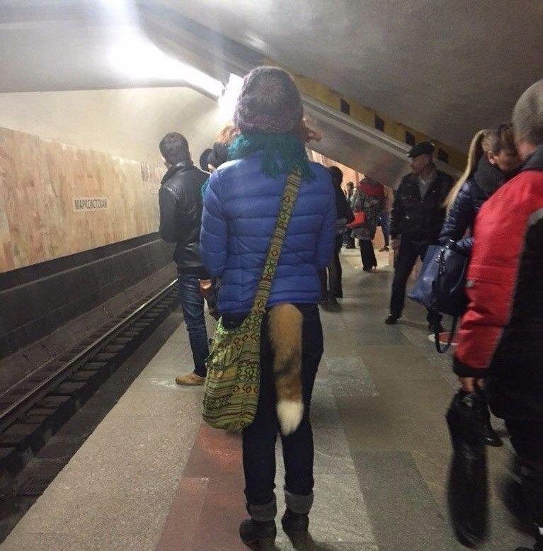 Ничего необычного, типичное метро