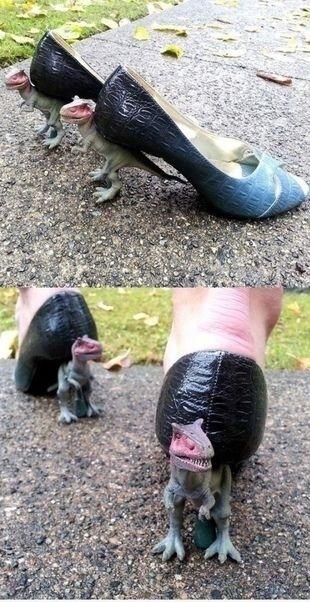 Очень странная обувь