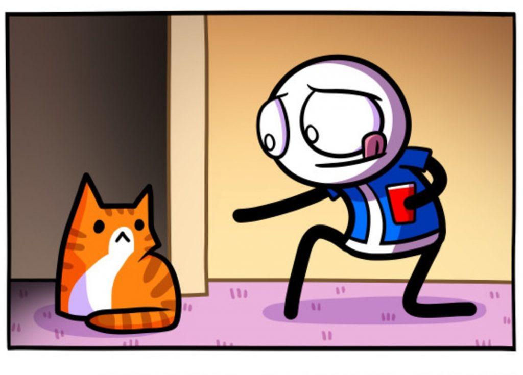 Одна кошка