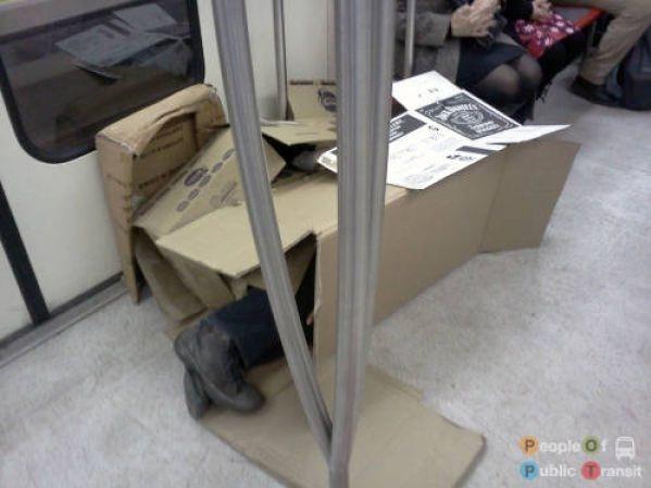 Эпатаж в метро