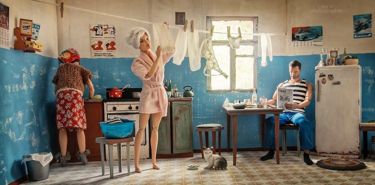 Барби и Кен в СССР