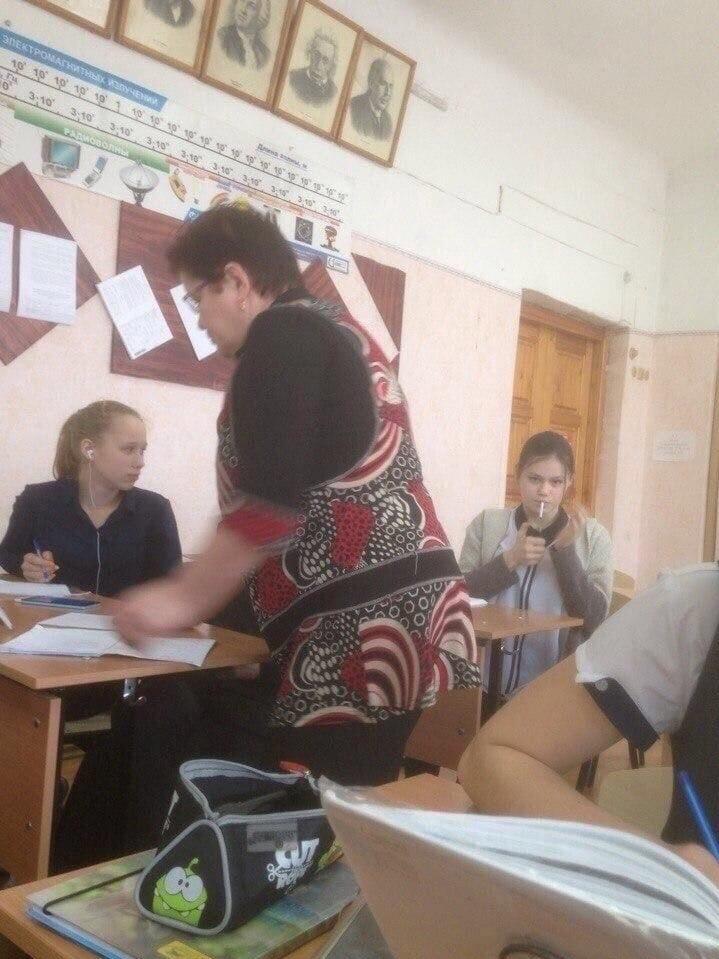 Суровые российские школьники