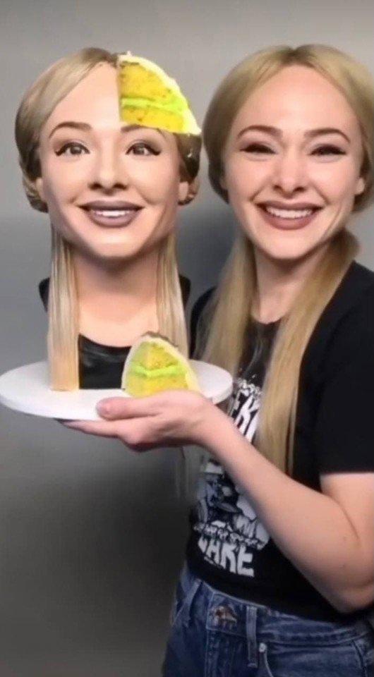 Слишком реалистичный торт