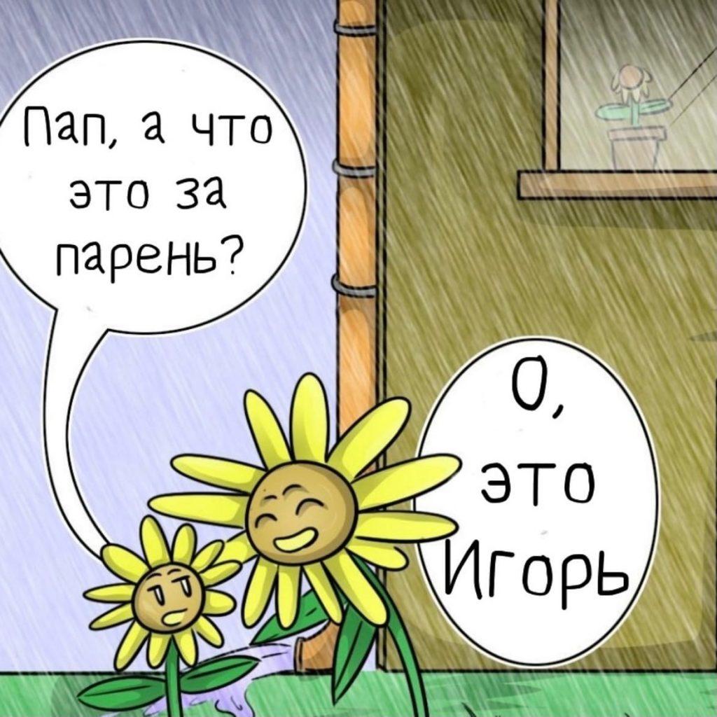 Смерть в цветочном горшке