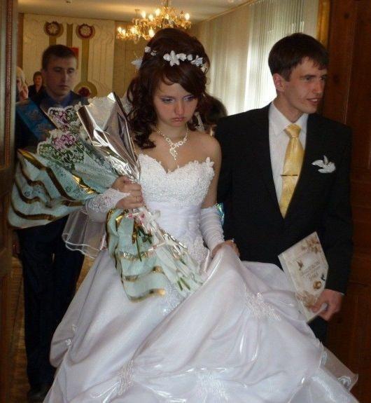 Нет лица на свадьбе