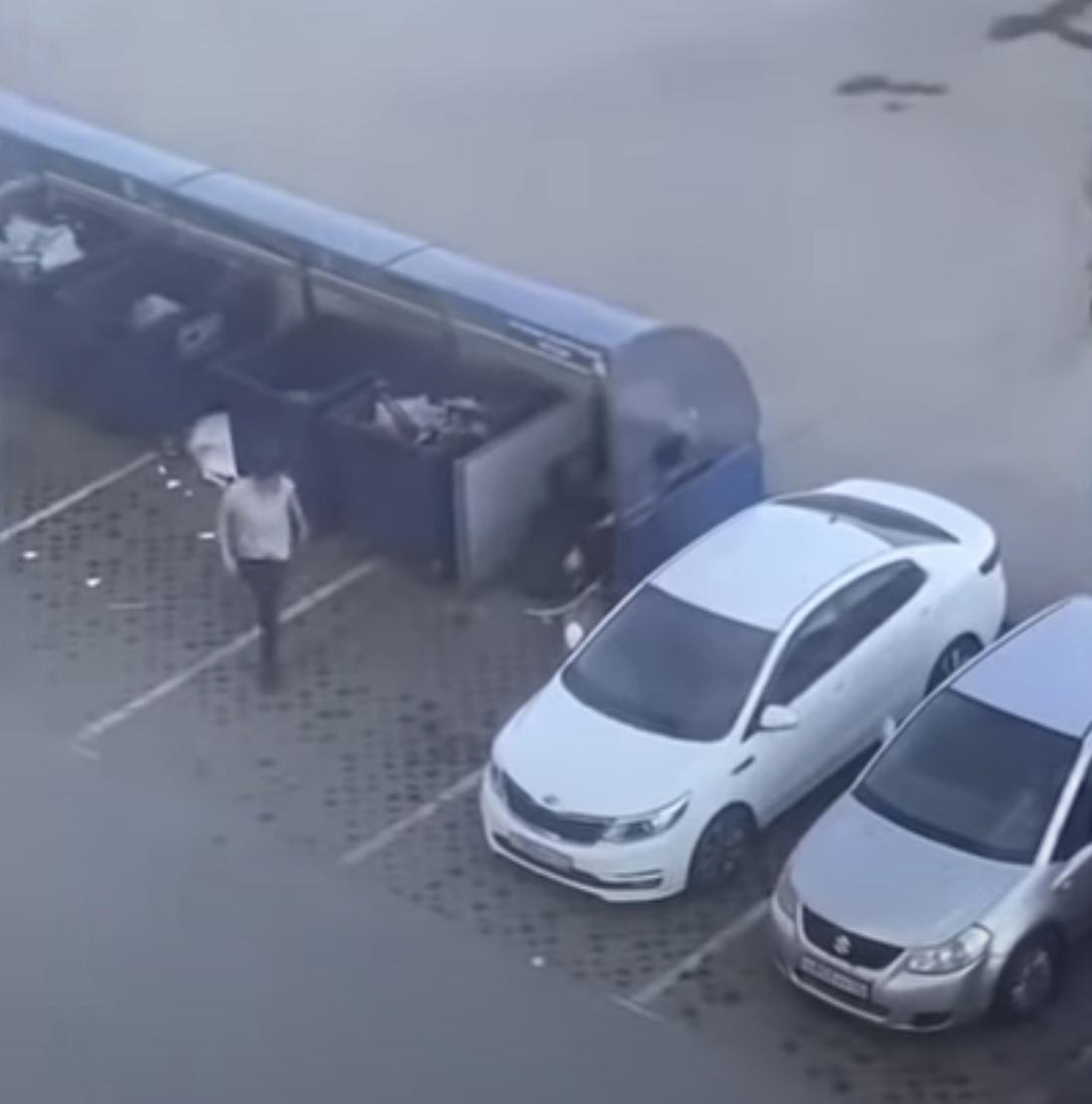 Случай в автомобиле