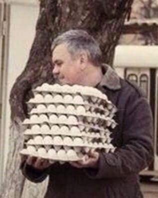 Будьте внимательны к яйцам