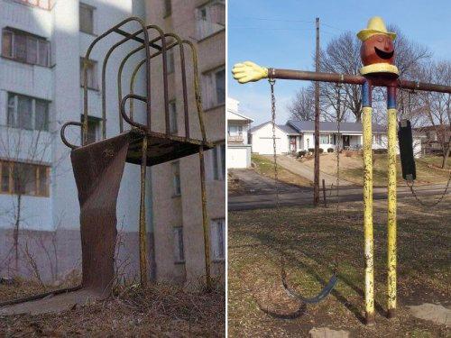 Детские площадки наших городов