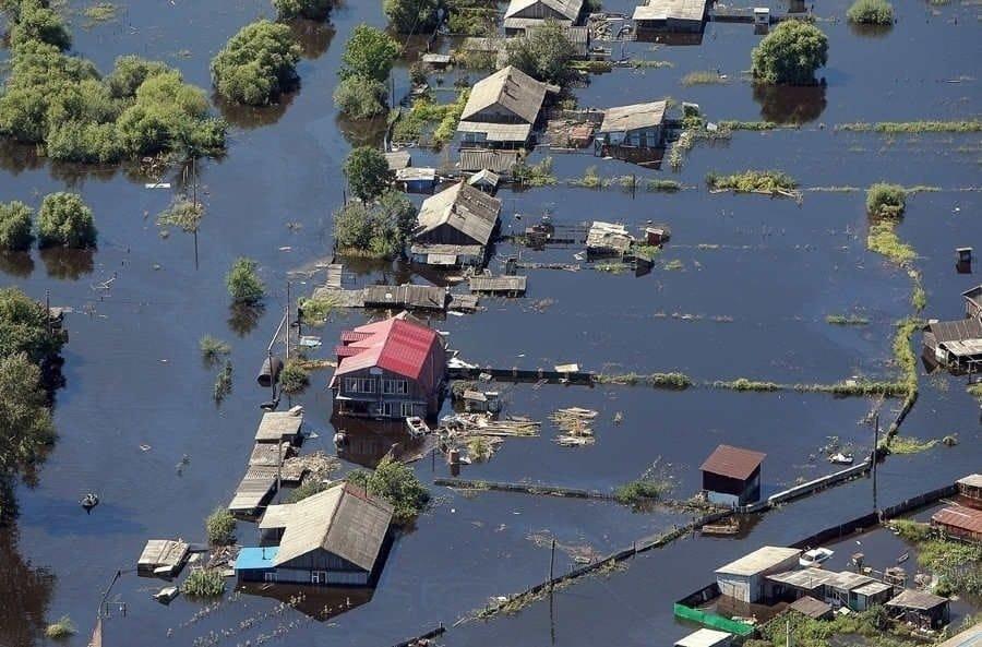 Произошел всемирный потоп