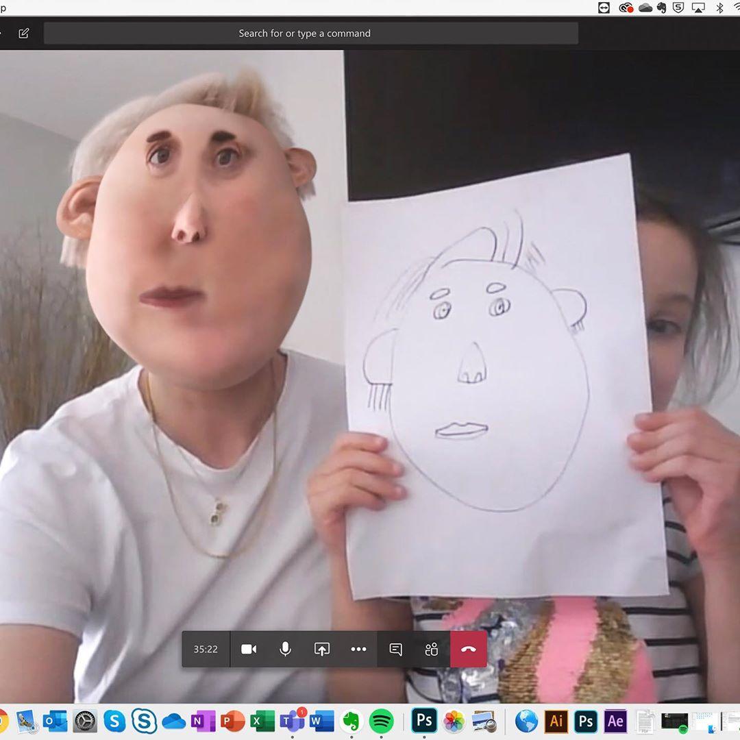 Когда рисунок оживает: подборка 3D изображений детских рисунков