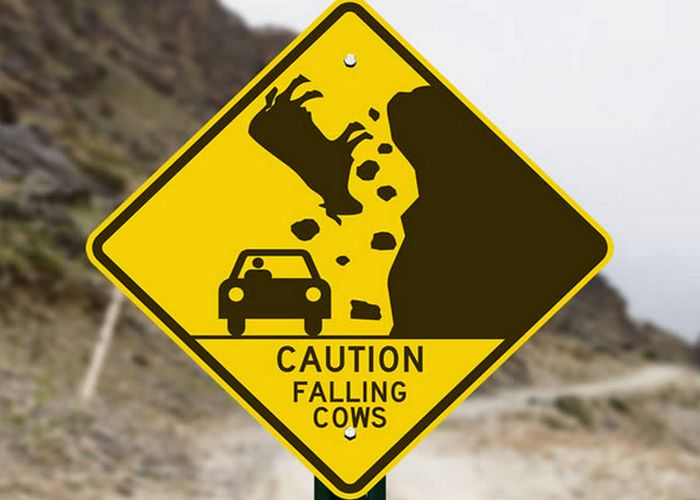 8 самых забавных дорожных знаков