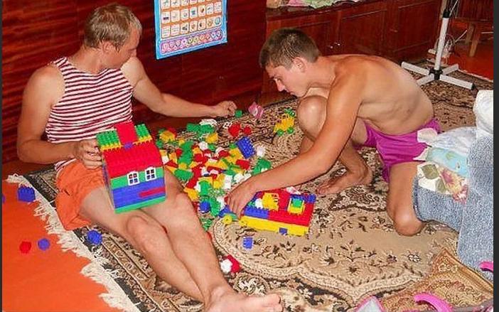 А вы знали,что в Германии для  мужчин есть детский сад?