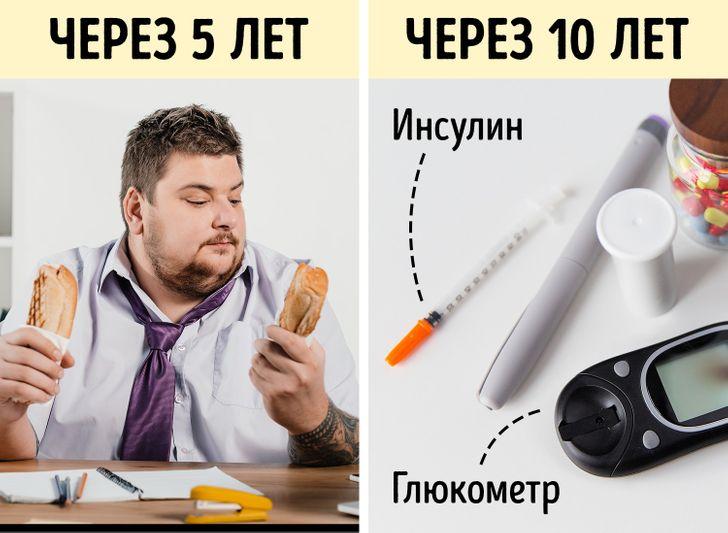 Изменения в теле из-за сидячего образа жизни
