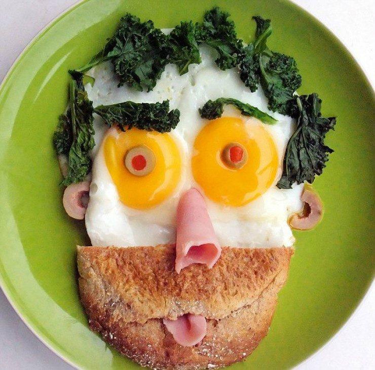Интересные завтраки для детей и взрослых
