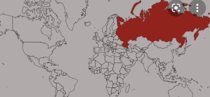 Россия самая большая странна