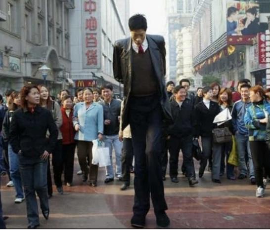 Самый высокий человек на свете