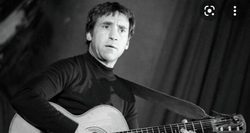 Молодой Владимир Высоцкий