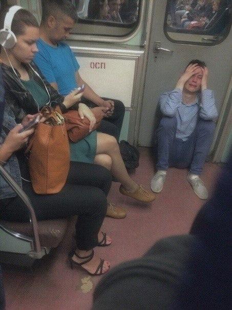 Странное и смешное московское метро