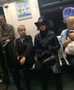 Кого ещё можно встретить в метро.
