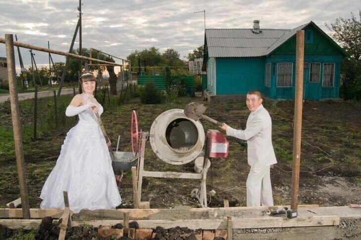 Свадебные фотографии, которые никто не должен видеть