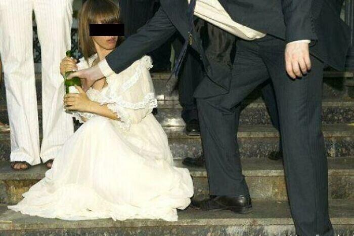 Безвкусные фотографии со свадьбы