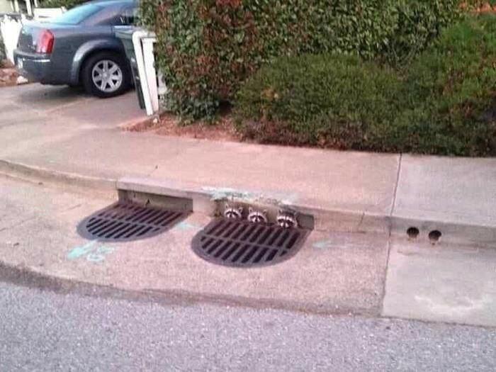 Неожиданности канализации