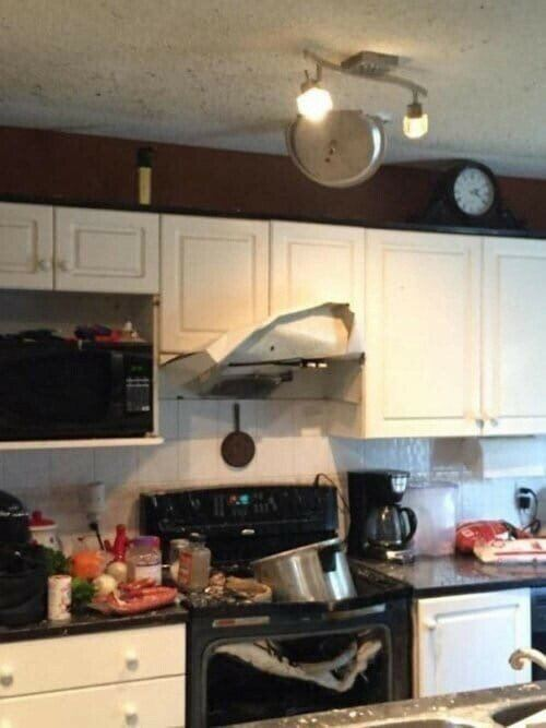 Тот случай, когда лучше бы не начинал готовить