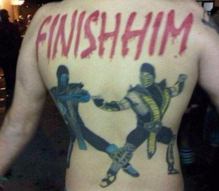 Ужасные татуировки