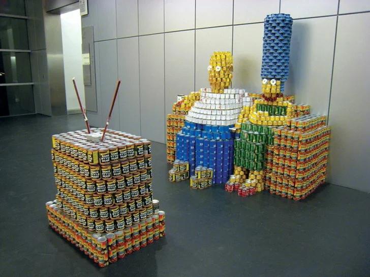 Когда нечем заняться, люди становятся очень творческими