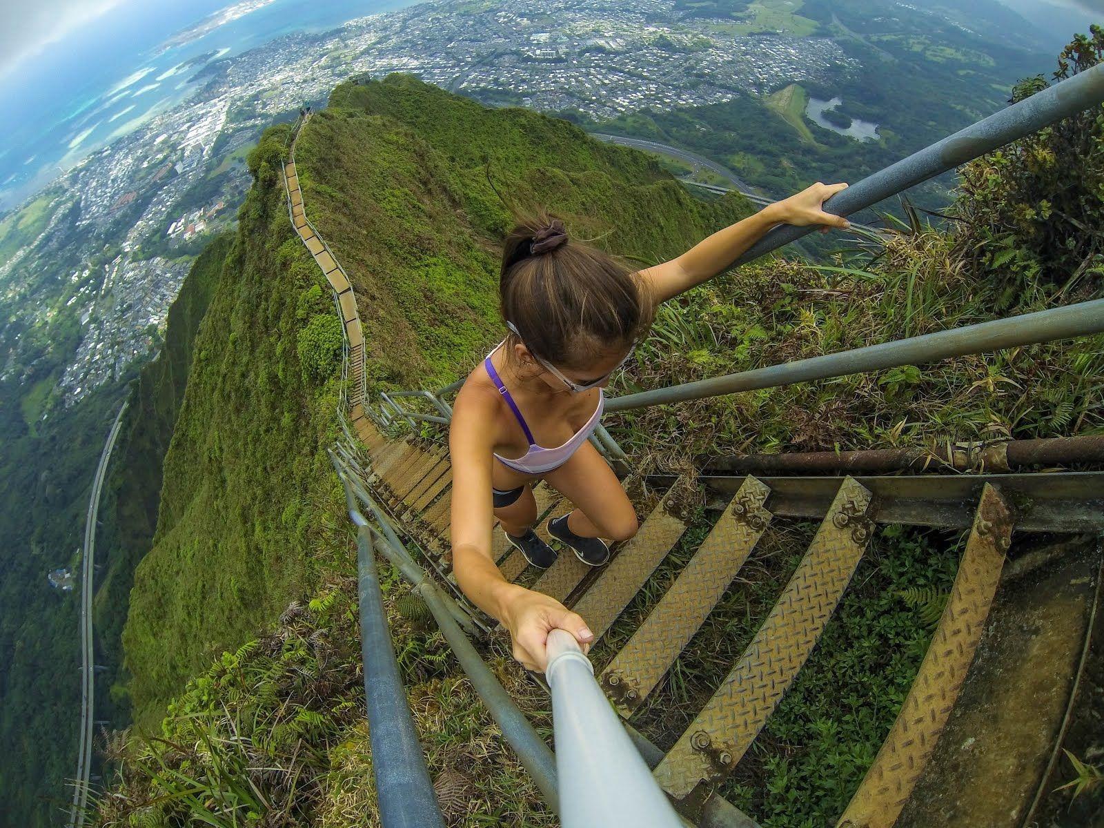 Безумные лестницы, которые не каждый сможет преодолеть
