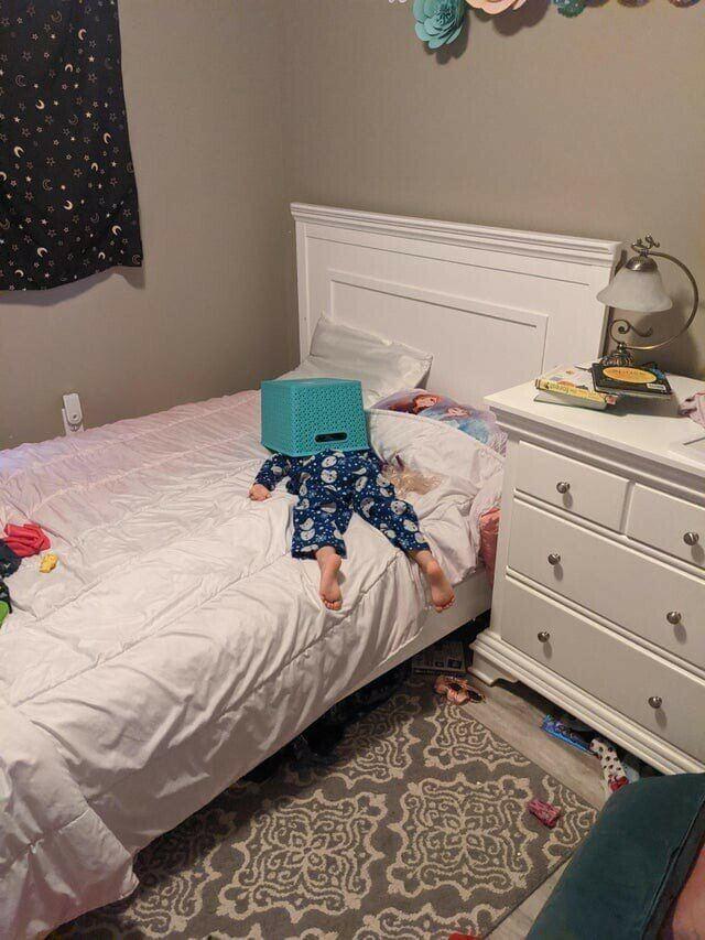 Дети, которые уснули не в том месте